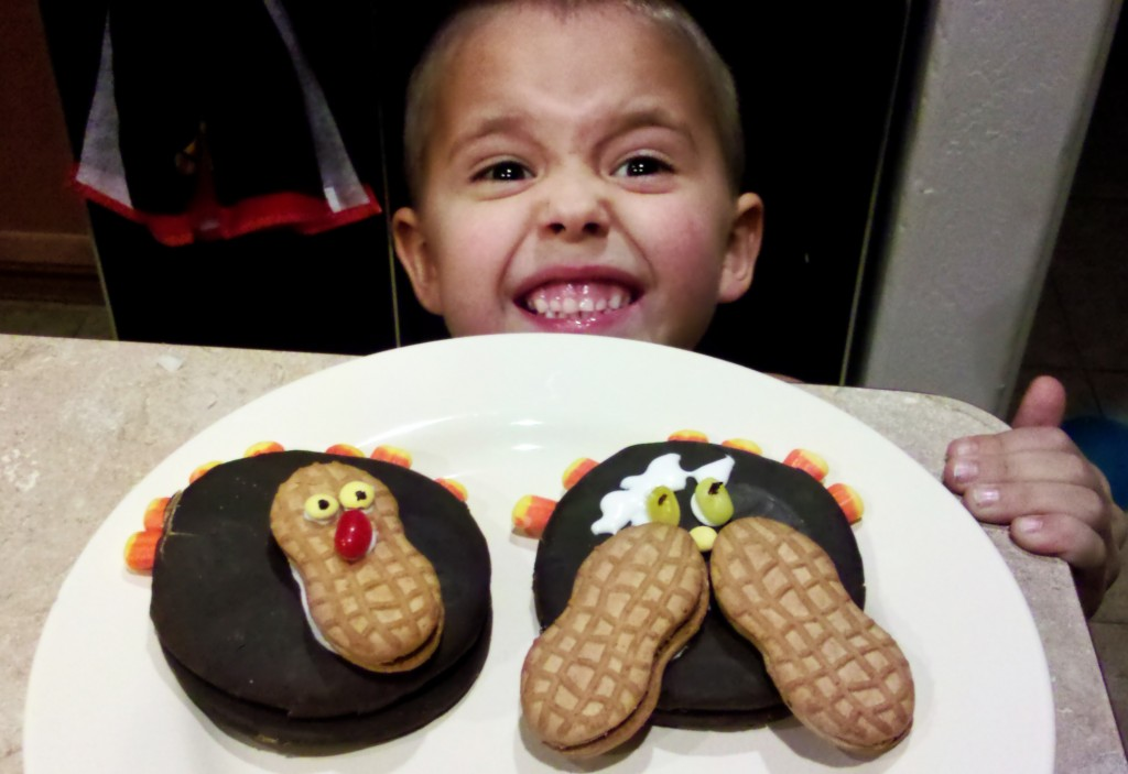 2 different moon pie turkeys