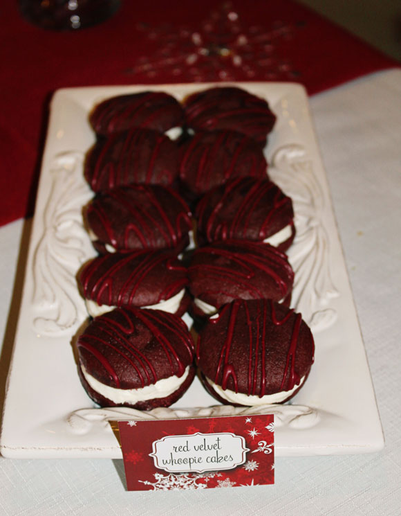 Red Velvet Whoopie Cakes from Starbucks