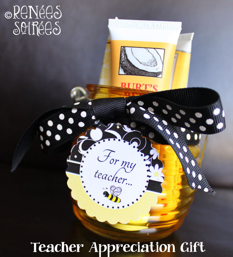 Bumble Bee themed gift for teacher appreciation