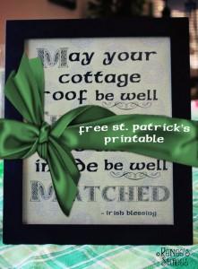 FREE Printable - Irish Blessing by @ReneesSoirees
